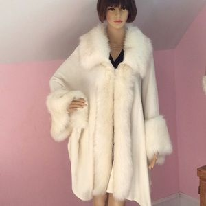 Jackets & Blazers - Absolutely stunning cape/coat, cream color,